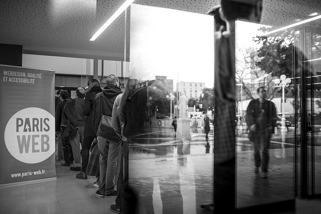 File d'attente avec Paris Web 2014