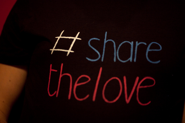 T-shirt #sharethelove