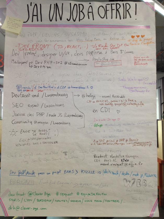 job board paris web 2015