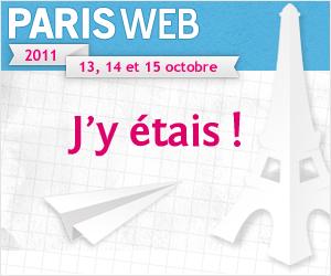 Bannière de Paris Web 2011